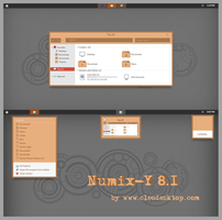 Numix Y Theme Windows 8.1 by cu88