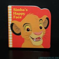 Lion King Simba's Happy Face Mini Book by LionKingForLife