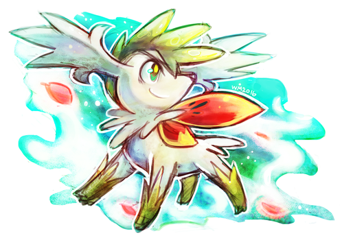 PKMN : Shaymin by whitmoon