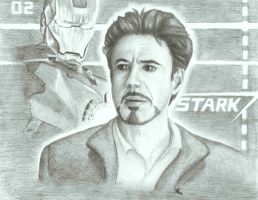 Tony Stark by 2ninjabee2