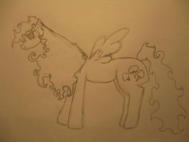 MLP: Candy Cloud~uncolored by DarkMysticRose