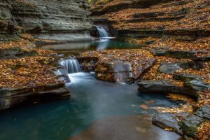 Buttermilk Falls 1 by kalika31
