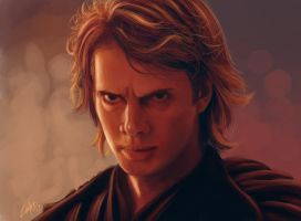 Anakin Skywalker by Lukecfc