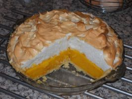 Orange Meringue Pie - Sliced by Bisected8