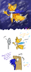 Let it go, Tails by TanyaWind