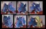 16 inchess tall Luna by calusariAC