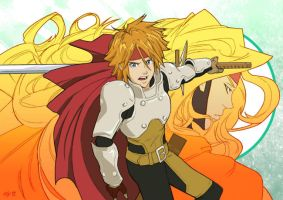 Tales of Phantasia - Cress X Dhaos by OLYJNS