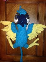 Crochet Bird by Sunshiny-Disposition