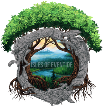 Isles of Eventide logo by KFCemployee