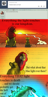 Godzilla - the Lion King by RoFlo-Felorez