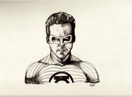 Ryan Reynolds Green Lantern by BoyWonder024