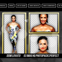 pack png de demi lovato by brish1000