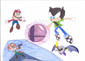 Jack in Super Smash Bros. by sonic4ever760