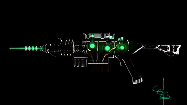 Sniper Plasma Rifle - Fallout by CC3TheArtist