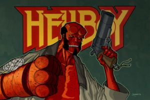 Hellboy by RC-draws