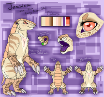 Jessica Ref for Turk by CosmicDerp