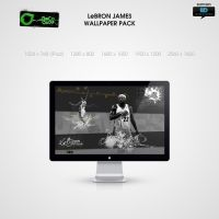 LeBron James wallpack by PaulHectorT