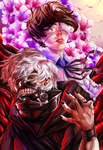 Tokyo Ghoul by ButteryFingers