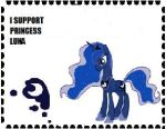 I Support Princess Luna by Teamscout11