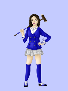 Veronica Sawyer by JaedynOfPyrrhia