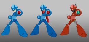Rockman by KindCoffee