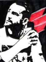 CM Punk sketchcard by The-Metatron-88