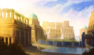 Imperial City - Rose of the San-San Saruk Republic by Lionel23