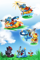 PKMNation :: Swordsdile by FENNEKlNS