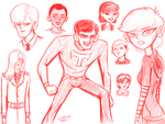 Red Sketch 01 - 2014-03-17 by ryuuseipro
