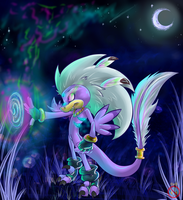 :AT: Vice the Velociraptor by shadowhatesomochao