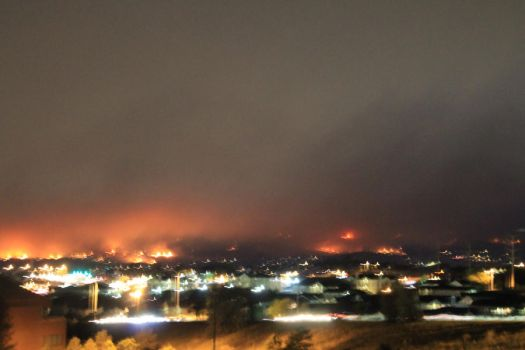 Waldo Canyon Fire - 2 - Tuesday 6-26-2012 by arbiter1983