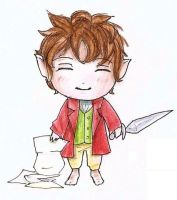 The Hobbit chibi by Snoffi2012