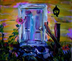 Front Door by LaurieLefebvre