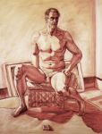 Male Figure Drawing 2 by 00chalcedony00
