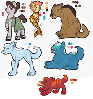 MLP:FIM Adoptables: the-carolyn-michelle by Kayla-san