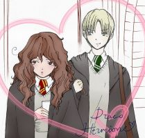 Dramione - crush colored by crazypinch