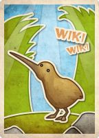 Kiwi card by thenota