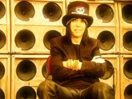 Mick Mars Carnival of Sins by aerokay