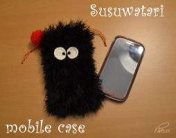 Susuwatari mobile case by Viress
