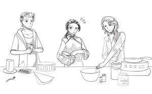 Hetalia Contest Entry: Gourmet Trio by NeoSailorCrystal