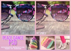 +Peace Dance Psd by ItWasJustAKiss