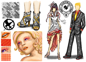 HG: District 8 fashion by cold-nostalgia