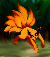Little Kurama by DaemonB4