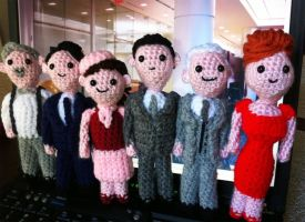 Mad Men Amigurumi by smapte