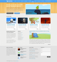 Dolphin Wordpress Theme by The-Returnx
