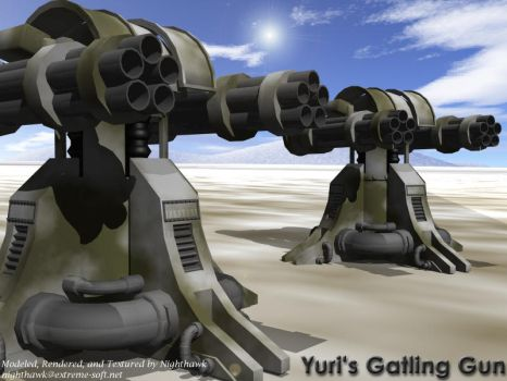 Yuri Gattling Cannons by bobjoe275