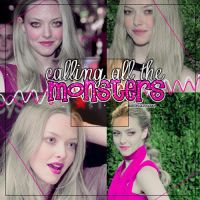Calling All The Monsters PSD by ItsGirlFearless