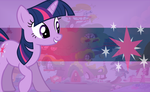 Twilight Sparkle Wallpaper by mayosia