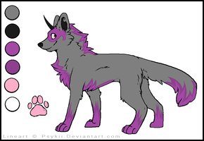 Uniwolf Adoptable! (SOLD) by kibagirl135