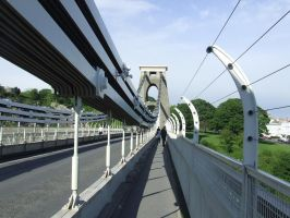 Clifton Suspension bridge, 2007 by katmary